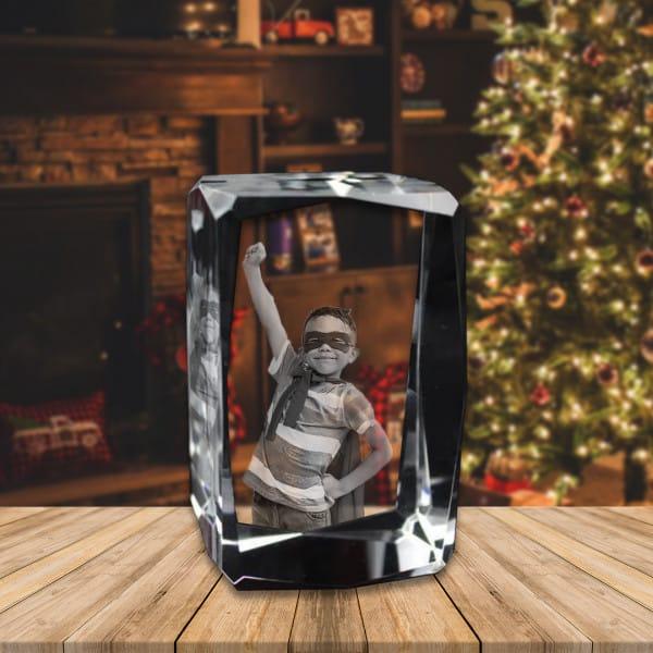 Personalized Souvenir CrystalCube Renwick Crystal