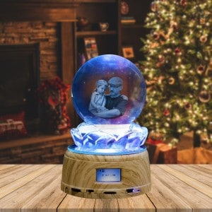 Custom Photo Crystal LED Music Ball