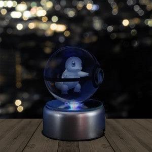 3D Holographic Crystal Pokeball   Renwick Crystal