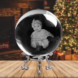 Customized Photo Crystal Sphere Ball Renwick Crystal