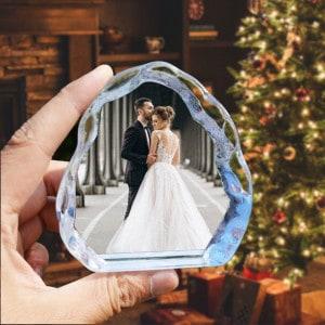 Personalized Photo Iceberg Crystal Renwick Crystal