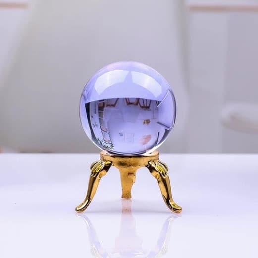 Quartz Magic Crystal Globes Renwick Crystal